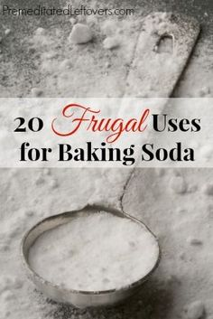 20 uses for baking soda that you may not be familiar with. Baking soda packs a lot of punch in a little box!
