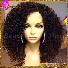 Cheap wig blue, Buy Quality wig made directly from China wig mannequin Suppliers: Best Brazilian Afro Kinky Curly Hair Wig Glueless Human Hair Lace Front Wigs Black Women Kinky Curly Lace Wig With Human Braiding Hair, Curly Full Lace Wig, Real Hair Extensions, Kinky Curly Wigs, Human Hair Wigs, Lace Wigs, Wig Hairstyles, Hairstyles 2016, Curly Hair Styles