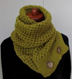 Knit Infinity Scarf Long Knit Scarf Olive Color Scarf by Sizana Knitted Boot Cuffs, Knit Boots, Cowl Scarf, Scarf Design, Knitting Accessories, Lace Design, Neck Warmer, Baby Knitting, Clothes