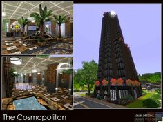 The Cosmopolitan @ The Sims Resource, 25 x 20