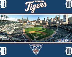 detroit tigers. I would love to catch a game there!  Haven't been to a tigers game since they were in the old stadium.
