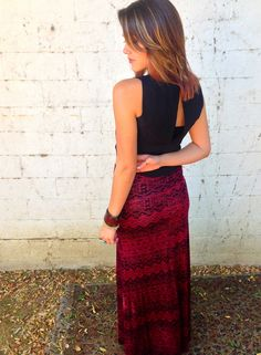 Tribal Print Maxi Skirt. Kaelen Muniz · Fashion. 993b87203c