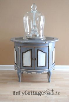 Miss Mustard Seed Milk Paint in Shutter Gray and Iron Stone - Thrifty Cottage Couture