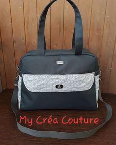 my créa couture sur Instagram: Un magnifique sac à langer pour un futur petit bébé Avec ses 6 poches il accueil tout le nécessaire dont votre enfant a besoin. Se porte à…