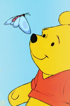 Winnie the Pooh, Winnie the Pooh, tubby little cubby all stuffed with fluff, he's Winnie the Pooh, Winnie the Pooh, willy, nilly, silly ol' bear!