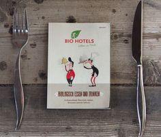 Mit App ins Bio-Restaurant und -Hotel Bio Restaurant, Hotels, App, Restaurants, Tableware, Food And Drinks, Dinnerware, Tablewares, Apps