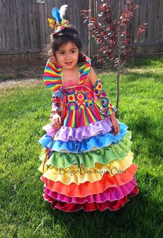 Pageant Rainbow Wear Candyland OOC Casual Wear by BelginBoutique, $300.00