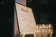 Pizarra de barra para la boda de Cinthya&Gerardo   #pizarrabarra #bodas #pizarras #ideasbodas #señaleticabodas #bodascreativas