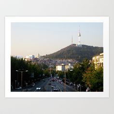 Itaewon Freedom Art Print by Leelly May - $16.00
