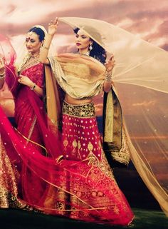 Love this photo! beautiful. Also love the clothes - fabrics - colors, patterns,the designs - they way they fit their bodies  _____________ net dupatta