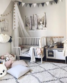 Such A Gorgeous Boho Style BedroomCredit To Urbanology Designs...   Home Decor  For Kids And Interior Design Ideas For Children, Toddler Room Ideas U2026