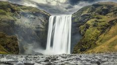 Waterfall, Outdoor, Iceland Landscape, Outdoors, Waterfalls, Outdoor Games, The Great Outdoors