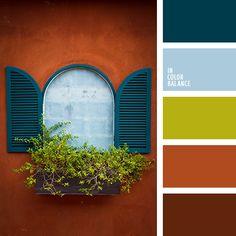 Цветовая палитра №1584