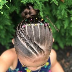 Today I bring you this Beautiful Hairstyle inspired by the talented Hilde Swipe for more views ➡️➡️➡️😊😊 Hoy les traigo Este… Lil Girl Hairstyles, Cute Hairstyles For Kids, Kids Braided Hairstyles, Princess Hairstyles, Pretty Hairstyles, Hairstyle Braid, Braid Out, Girl Hair Dos, Girls Braids