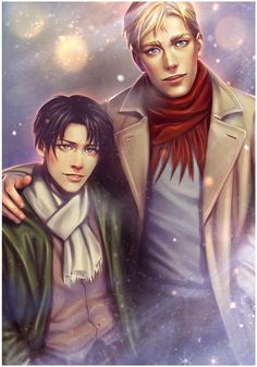 """varrix: """"Oh Captain, my Captain. It's truly an honor to share a birth day with you. May the fandom always keep you and your Erwin warm and loved. Merry Christmas, guys. """""""