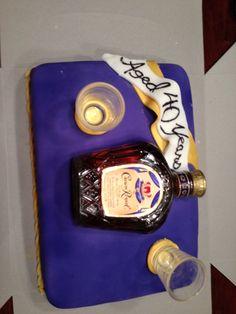 Crown Royal Bunt Cake