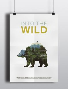 Into The Wild Movie Poster by Shannon Crutchfield, via Behance