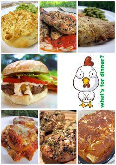 Weekly Meal Plan - come get weekly menu inspiration!