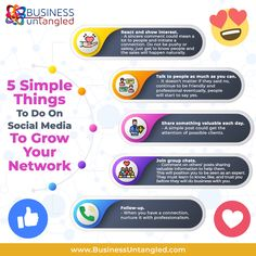 Focus on building your list of contacts and partners! 💁♀️ You can grow your network as you grow your business! ☝️ 🤓 📈 Let Business Untangled teach you complex tools in a simplistic fashion! 👩🏫 😊 👍 Contact us today and start getting surprising results! 📱 👌 Visit www.businessuntangled.com or call 469-458-0447 . . . . #TuesdayTips #Tips #business_untangled #successmindset #successcoach #tax #successtips #takingrisks #businessowner #tuesdaymorning #TuesdayThoughts Success Coach, Success Mindset, Take Risks, Getting To Know, Growing Your Business, Things To Do, Social Media, Let It Be, Teaching