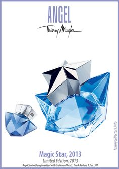 Thierry Mugler Angel Perfume Collector s Limited Edition Bottle 2013 Angel  Magic Star a722dea9f3