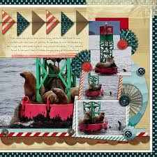 Image result for cruise scrapbook page layouts