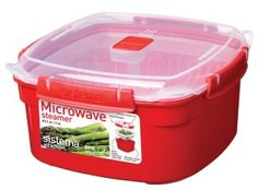 Frugal Kitchen Gadgets |  Sistema Medium Microwave Steamer for $8.99, down from $19.49!  BPA Free!