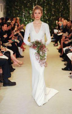 #carolinaherrera NY bridal week 15