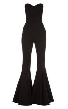 Bustier Jumpsuit by Elenareva Edgy Outfits, Cute Outfits, Fashion Outfits, Types Of Fashion Styles, Star Fashion, Dress Collection, Ideias Fashion, Fashion Design, Clothes