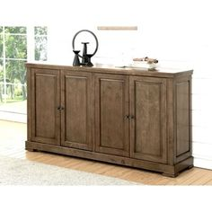 Shop for ABBYSON LIVING Cypress Oak-finish Rubberwood Dining Buffet. Get free delivery at Overstock.com - Your Online Furniture Shop! Get 5% in rewards with Club O!