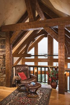 sandpoint idaho timber frame home - Google Search