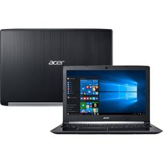"Notebook Acer A515-51-55QD Intel Core I5-7200U 4GB 1TB Tela LED 15.6"" Windows 10 << R$ 167199 >>"