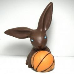 Easter Basketball Bunny $20