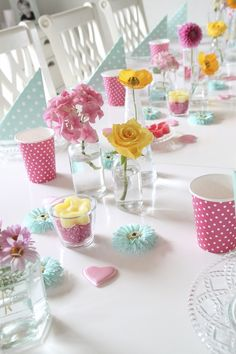 @Barbara Marie lille atelier: Summer table setting