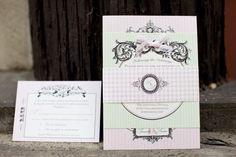 Vintage Wedding Pink Color Theme - Rustic Wedding Chic Vintage Wedding Invitations, Wedding Invitation Cards, Pink Themes, Color Themes, Pink Wedding Theme, Dream Wedding, Pink Bridesmaid Dresses, Allure Bridal, Vintage Stil