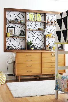 Design your own bookshelf lining!