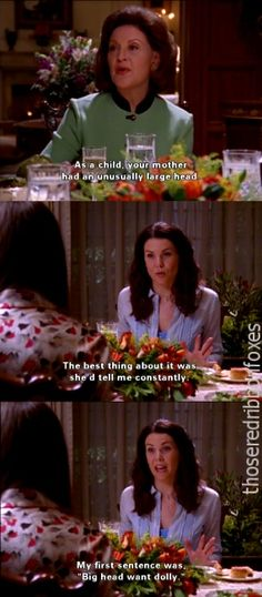 charming life pattern: gilmore girls - quote