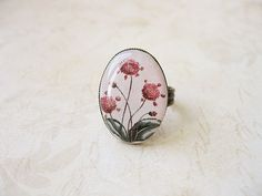 FREE WORLDWIDE SHIPPING  Vintage Flowers Ring by smafactory, $15.00