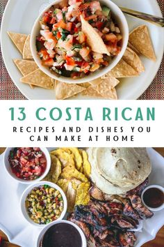 Costa Rica has amazing food for every palette. Make mouth watering Costa Rican dishes at home with these 13 delicious Costa Rican recipes! Try out favorites like a gallo pinto and tamales and bring the taste of Costa Rican cuisine to your kitchen. #CostaRica #CostaRicanFood #LatinRecipes #EasyRecipes #RiceRecipes #TraditionalCostaRicanFood Costa Rican Food, Pollo Recipe, Gallo Pinto, National Dish, Latin Food, Tamales, Popular Recipes, Drinking Tea, Street Food