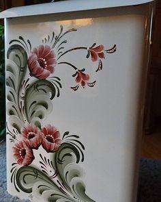 En del av en tavla jag målade tidigare.