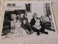 Astronaut M Scott Carpenter Family NASA Vintage Press Photo 62 2802 | eBay
