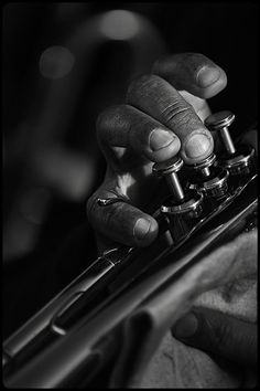 ♫♪ Music ♪♫ musician Black & white photography music hand