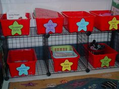 **This website has many ready made items for CENTERS.