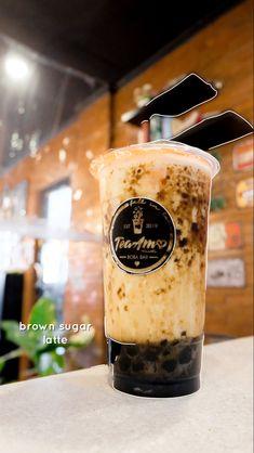 Tea Amo Boba Bar - Vigan City Boba Bar, Vigan, Milk Tea, Brown Sugar, Latte, City, City Drawing, Cities