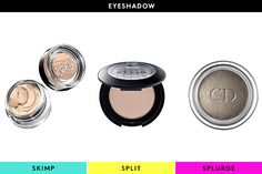 The Best Beautifiers For EVERY Budget #refinery29  http://www.refinery29.com/56660#slide19  Skimp: Maybelline Color Tattoo by EyeStudio 24 Hr EyeshadowTattoo is not an exaggeration: These creamy, pigmented shadows will. Not. Budge. We don't know why we'd need a shadow to last 24 hours, but we feel better knowing we have the option.Split: Stila Eye ShadowWith fabulous color payoff, an ultra-blendable formula, and the versatility to wear wet or dry, it's no wonder Stila's cult-classic shadows…