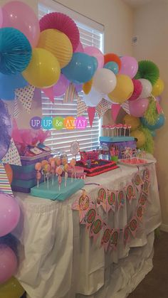 Shopkins Inspied birthday decor