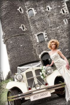 Beauford wedding car (photoshoot)  www.goldchoiceweddingcars.co.uk                 Photo credit :GO4photography