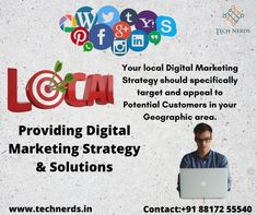Let's connect with us for a complete Digital Marketing Solution.  To Get An Efficient Social Media Strategy For Your Business: Reach Us At : www.technerds.in/contact/  Call or WhatsApp Us : +91 88172 55540 Best Digital Marketing Company, Digital Marketing Strategy, Connection, Social Media, How To Get, Let It Be, Business, Store, Social Networks