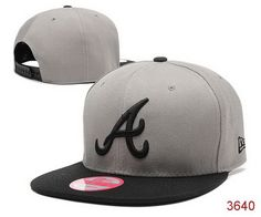 MLB Atlanta Braves New era Snapback Hats Grey 139|only US$6.00 - follow me to pick up couopons.