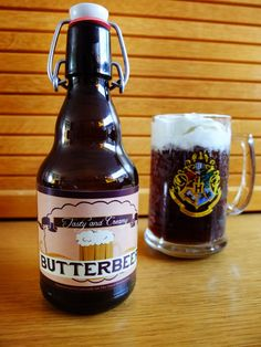 """Harry Potter fans first read about Butterbeer in Harry Potter and the Prisoner of Azkaban. Students took trips to Hogsmeade, where they tasted the sweet beverage at the Three Broomsticks. Harry believes it is """"the most delicious thing he'd ever taste"""
