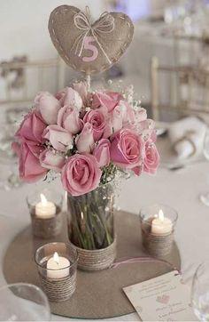 wedding table stuff
